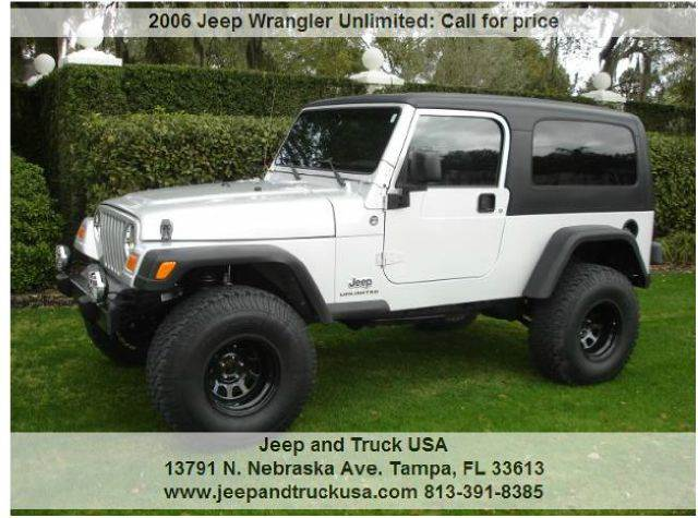 Great 2006 Jeep Wrangler Unlimited
