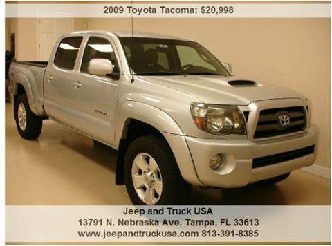 2009 Toyota Tacoma for sale at Jeep and Truck USA in Tampa FL