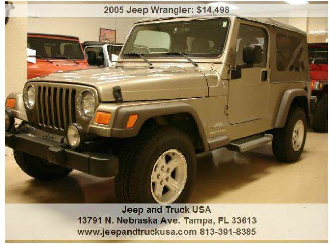 2005 jeep wrangler unlimited in tampa fl jeep and truck usa. Black Bedroom Furniture Sets. Home Design Ideas