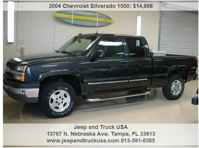 2004 Chevrolet Silverado 1500 for sale at Jeep and Truck USA in Tampa FL