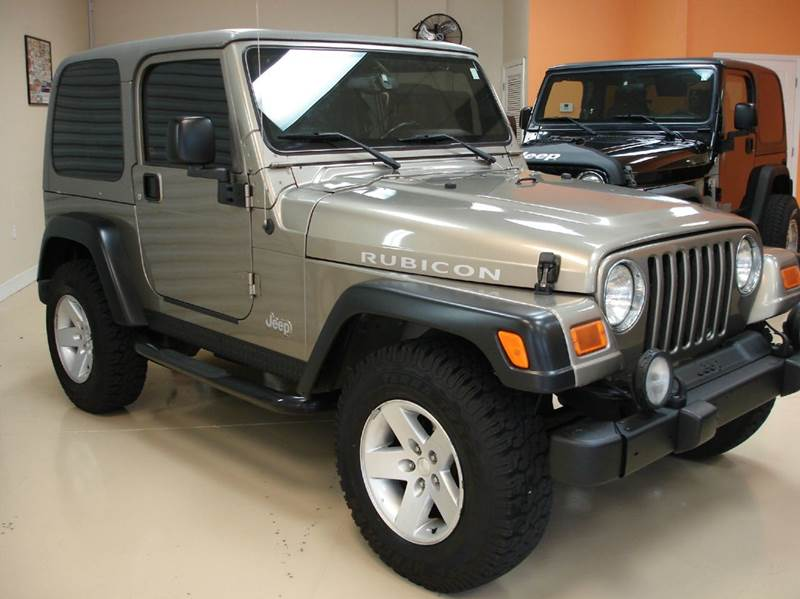 2004 jeep wrangler 2dr rubicon 4wd suv in tampa fl jeep. Black Bedroom Furniture Sets. Home Design Ideas