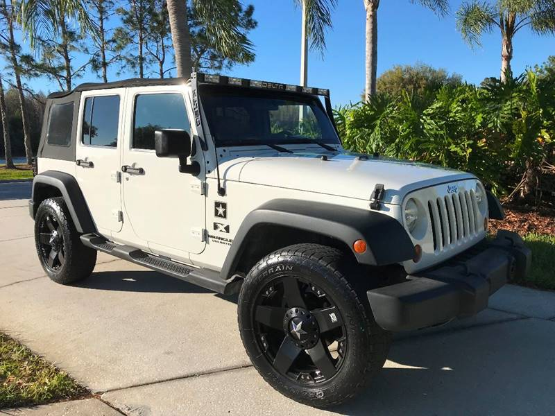 2009 jeep wrangler unlimited x in tampa fl jeep and truck usa. Black Bedroom Furniture Sets. Home Design Ideas