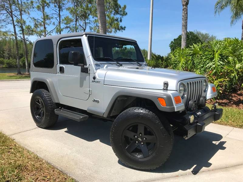 2005 jeep wrangler sport in tampa fl jeep and truck usa. Black Bedroom Furniture Sets. Home Design Ideas