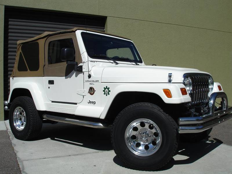 1999 jeep wrangler sahara in tampa fl jeep and truck usa. Black Bedroom Furniture Sets. Home Design Ideas