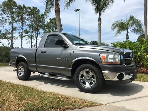2006 Dodge Ram Pickup 1500 for sale at Jeep and Truck USA in Tampa FL
