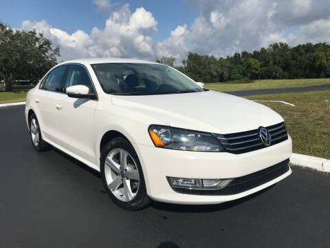 2015 Volkswagen Passat for sale at Jeep and Truck USA in Tampa FL