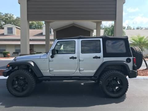 2013 Jeep Wrangler Unlimited for sale at Jeep and Truck USA in Tampa FL