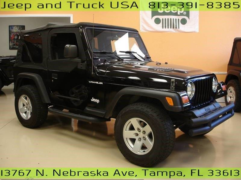 Jeep Wrangler X Suv In Tampa Fl Jeep And Truck Usa