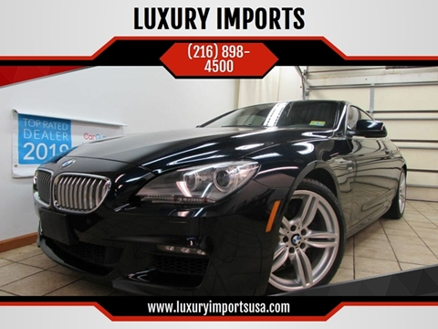 2012 BMW 6 Series for sale at LUXURY IMPORTS in Parma OH