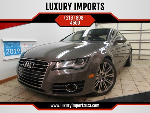 2012 Audi A7 for sale at LUXURY IMPORTS in Parma OH