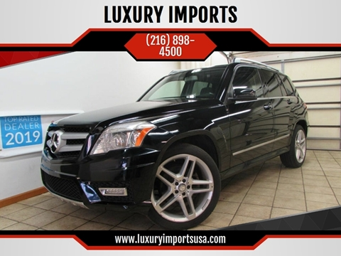 2011 Mercedes-Benz GLK for sale at LUXURY IMPORTS in Parma OH