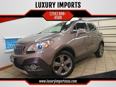 2014 Buick Encore for sale at LUXURY IMPORTS in Parma OH