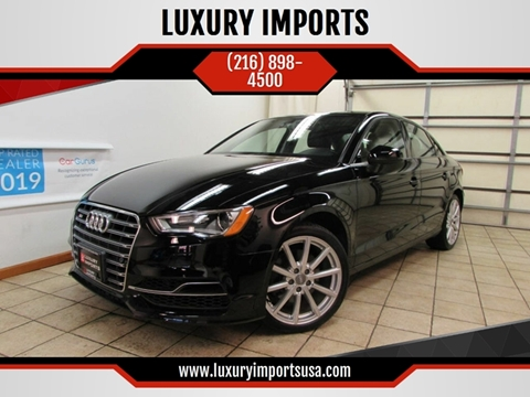2015 Audi A3 for sale at LUXURY IMPORTS in Parma OH