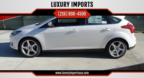 2012 Ford Focus for sale at LUXURY IMPORTS in Parma OH