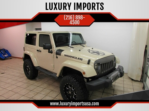 2011 Jeep Wrangler for sale at LUXURY IMPORTS in Parma OH