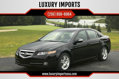 2007 Acura TL for sale at LUXURY IMPORTS in Parma OH
