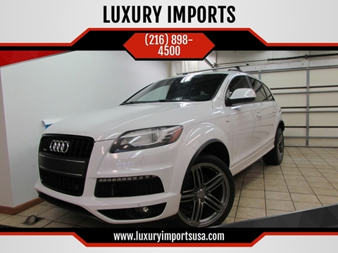 2013 Audi Q7 for sale at LUXURY IMPORTS in Parma OH