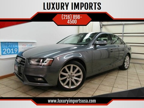 2013 Audi A4 for sale at LUXURY IMPORTS in Parma OH