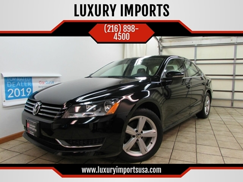 2012 Volkswagen Passat for sale at LUXURY IMPORTS in Parma OH