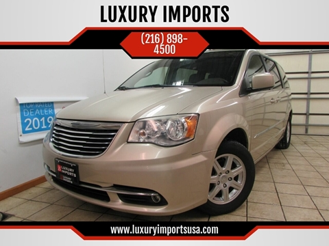 2012 Chrysler Town and Country for sale at LUXURY IMPORTS in Parma OH