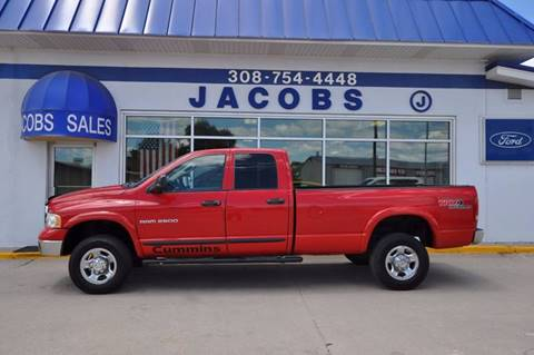 2004 Dodge Ram Pickup 2500 for sale at Jacobs Ford - Vehicles in Saint Paul NE