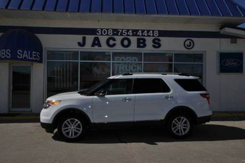2013 Ford Explorer for sale at Jacobs Ford - Vehicles in Saint Paul NE