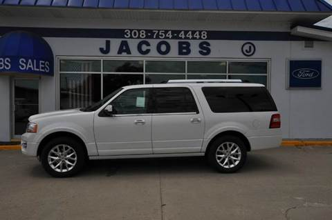 2015 Ford Expedition EL for sale at Jacobs Ford - Vehicles in Saint Paul NE