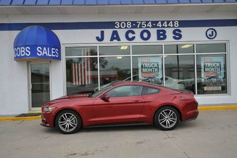 2015 Ford Mustang for sale at Jacobs Ford - Vehicles in Saint Paul NE