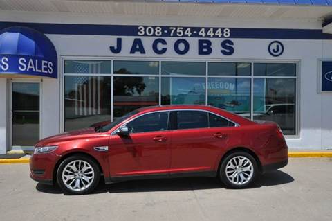 2016 Ford Taurus for sale at Jacobs Ford - Vehicles in Saint Paul NE