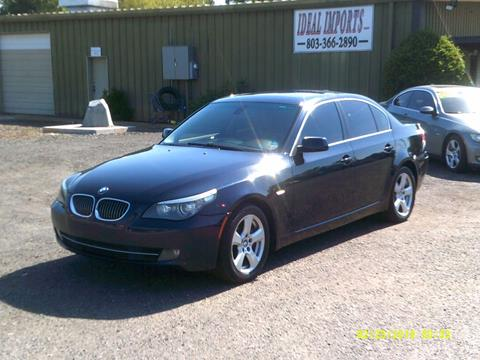 BMW 5 Series For Sale in Rock Hill, SC - IDEAL IMPORTS WEST