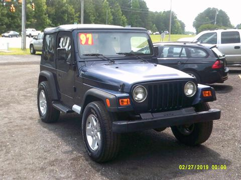 1997 Jeep Wrangler for sale in Rock Hill, SC