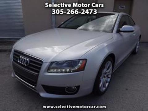 2012 Audi A5 for sale in Miami, FL