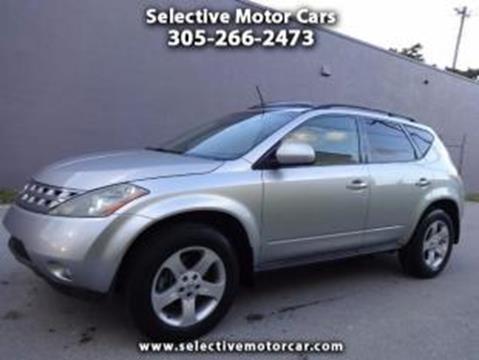 2004 Nissan Murano for sale in Miami, FL