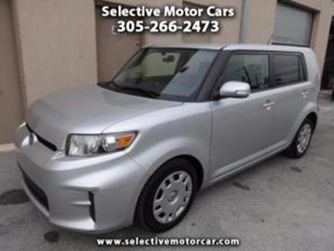 2012 scion xb for sale in florida for Selective motor cars miami