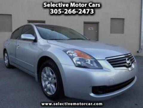 2012 Nissan Altima for sale at Selective Motor Cars in Miami FL