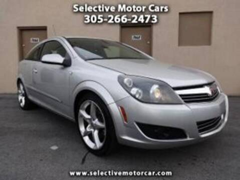 2008 Saturn Astra for sale at Selective Motor Cars in Miami FL
