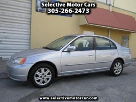 2004 honda civic for sale in miami fl for Selective motor cars miami