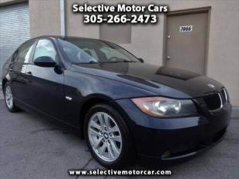 2006 BMW 3 Series for sale at Selective Motor Cars in Miami FL