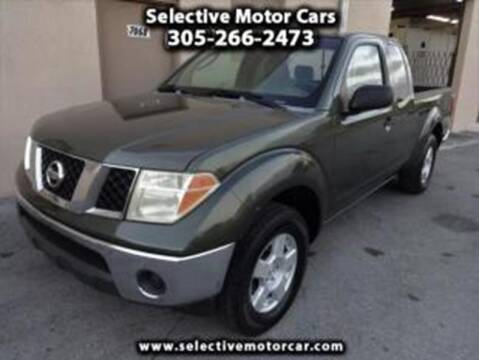 2005 Nissan Frontier for sale at Selective Motor Cars in Miami FL
