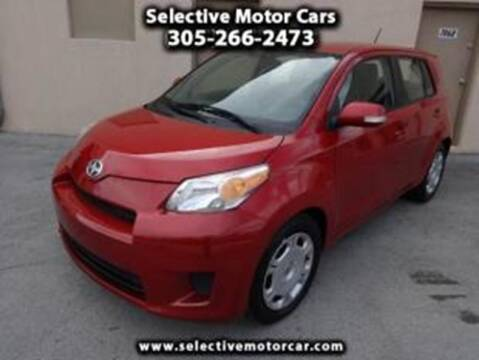 2008 Scion xD for sale at Selective Motor Cars in Miami FL