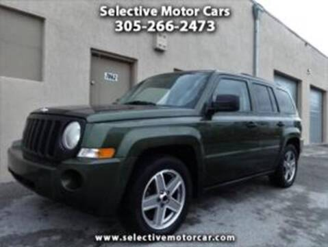 2008 Jeep Patriot for sale at Selective Motor Cars in Miami FL