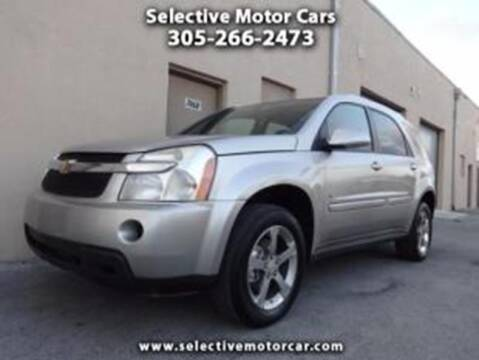 2007 Chevrolet Equinox for sale at Selective Motor Cars in Miami FL