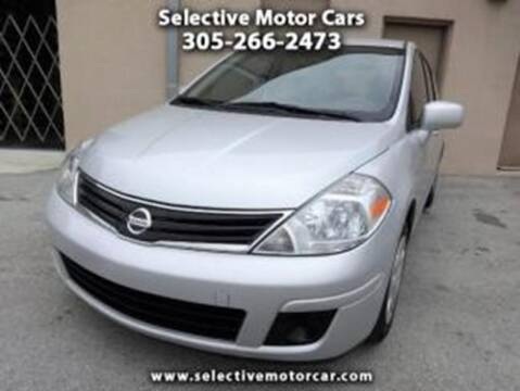 2011 Nissan Versa for sale at Selective Motor Cars in Miami FL
