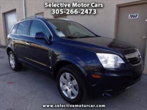 2008 Saturn Vue for sale at Selective Motor Cars in Miami FL