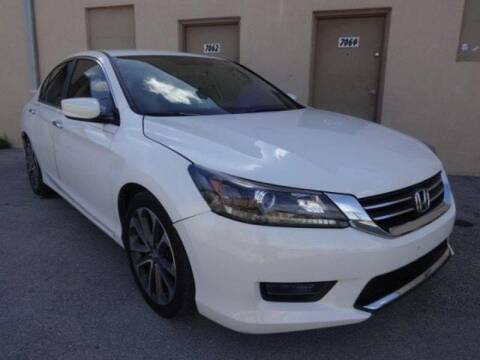 2016 Honda Accord for sale at Selective Motor Cars in Miami FL