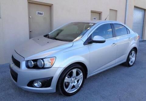 2013 Chevrolet Sonic for sale at Selective Motor Cars in Miami FL