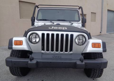 2004 Jeep Wrangler for sale in Miami, FL