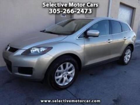 2008 Mazda CX-7 for sale at Selective Motor Cars in Miami FL