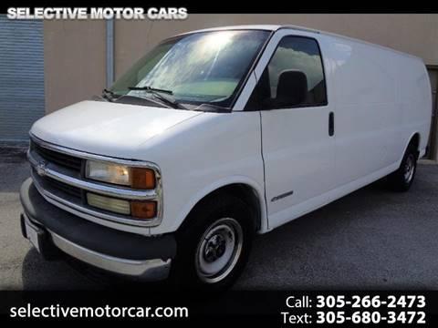 2002 Chevrolet Express Cargo for sale in Miami, FL