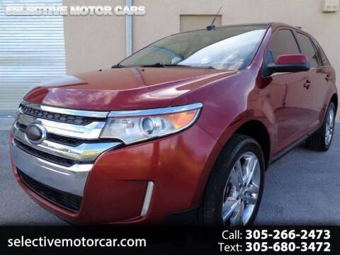 2013 Ford Edge for sale at Selective Motor Cars in Miami FL